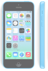 iPhone 5C AT&T Blue