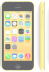iPhone 5C Cricket Yellow