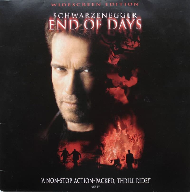End of Days LaserDisc