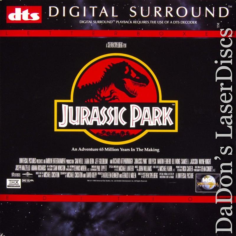 Jurassic Park LaserDisc