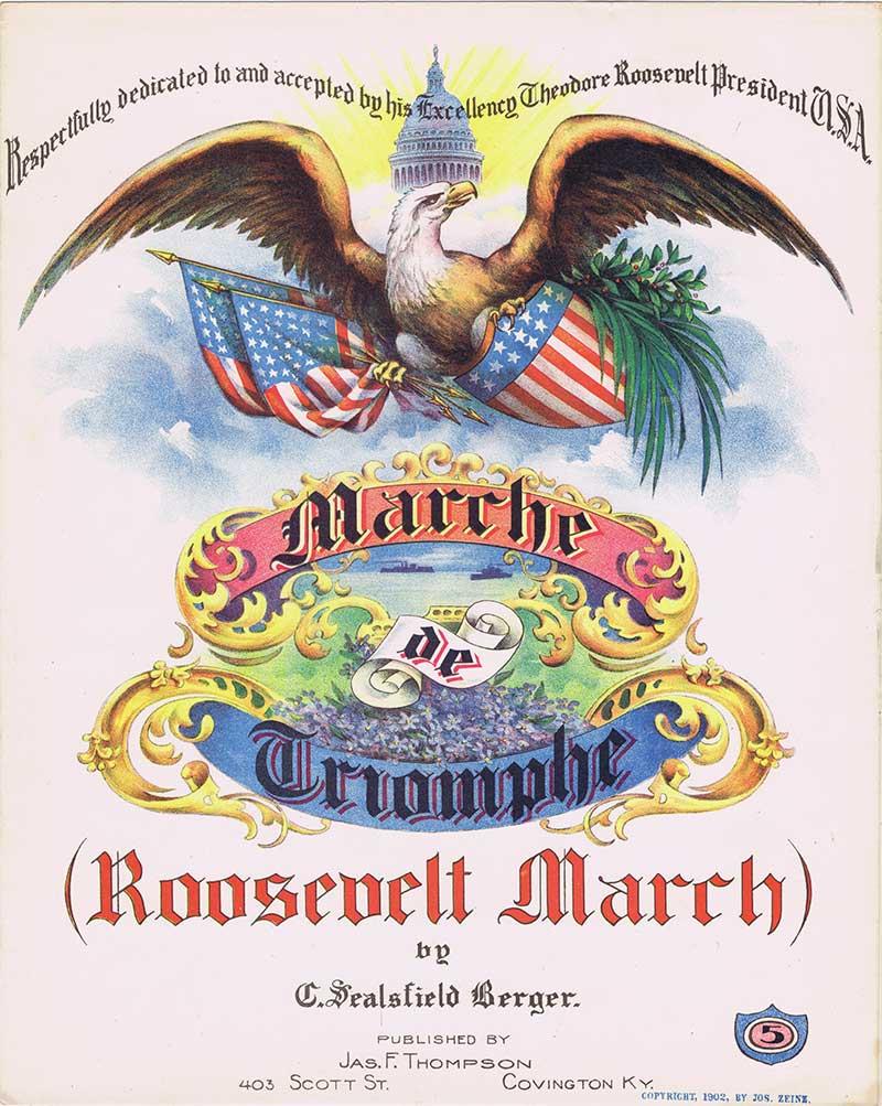 Roosevelt March sheet music