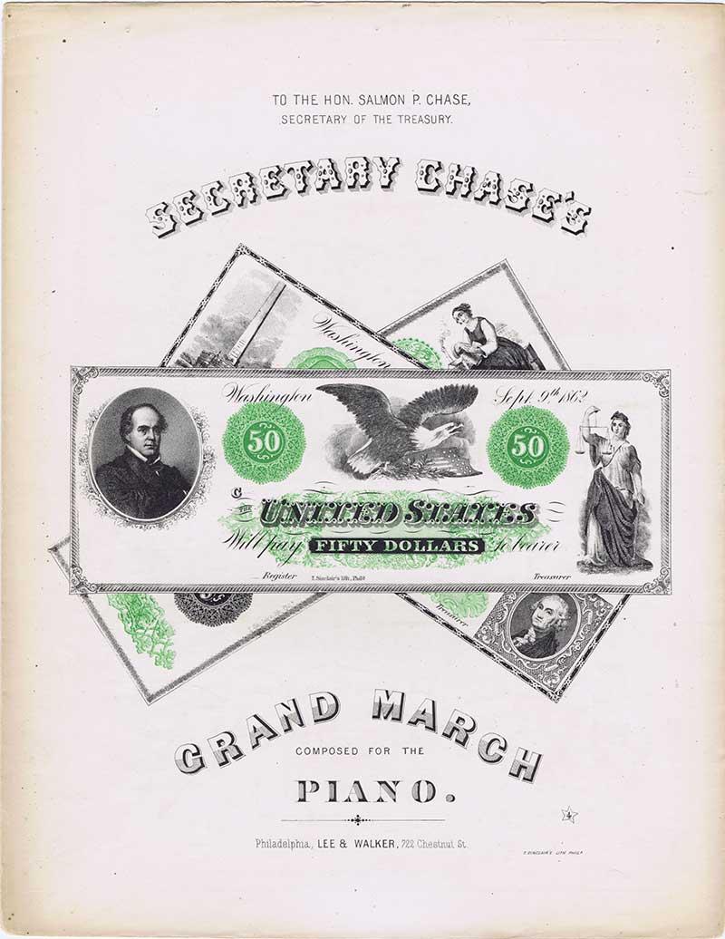 Grand March sheet music