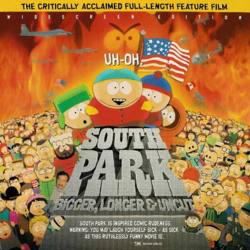 South Park LaserDisc