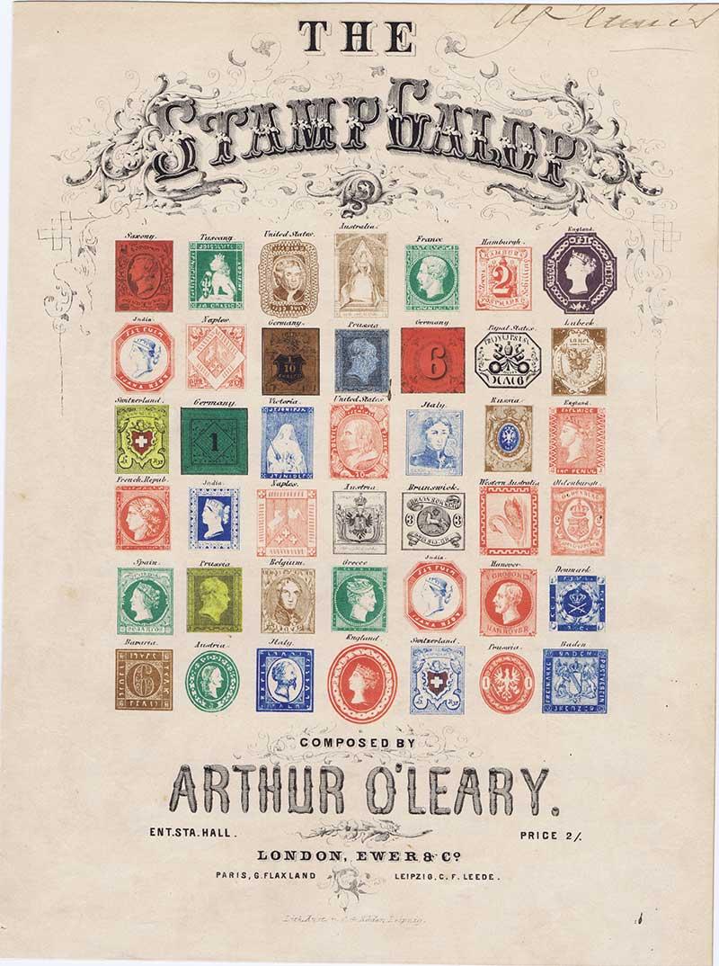 Stamp Galop Sheet Music