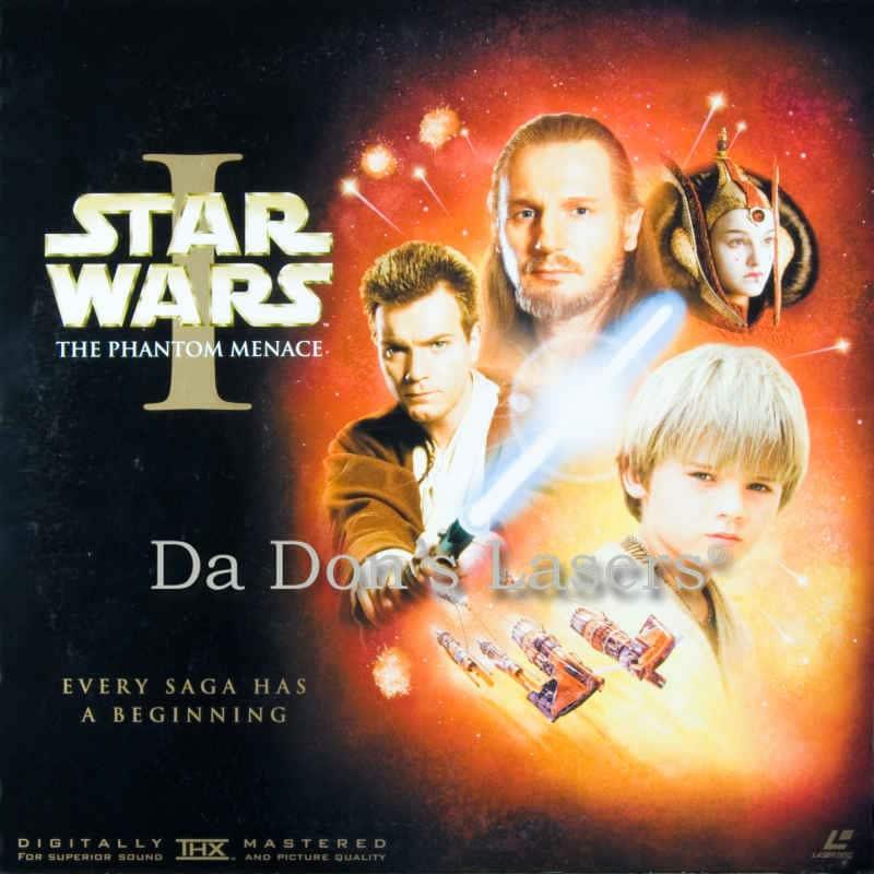 Star Wars Phantom Menace LaserDisc