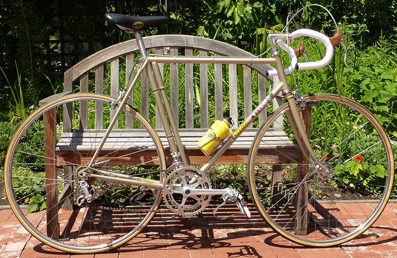 Masi GC 1974 restored bicycle