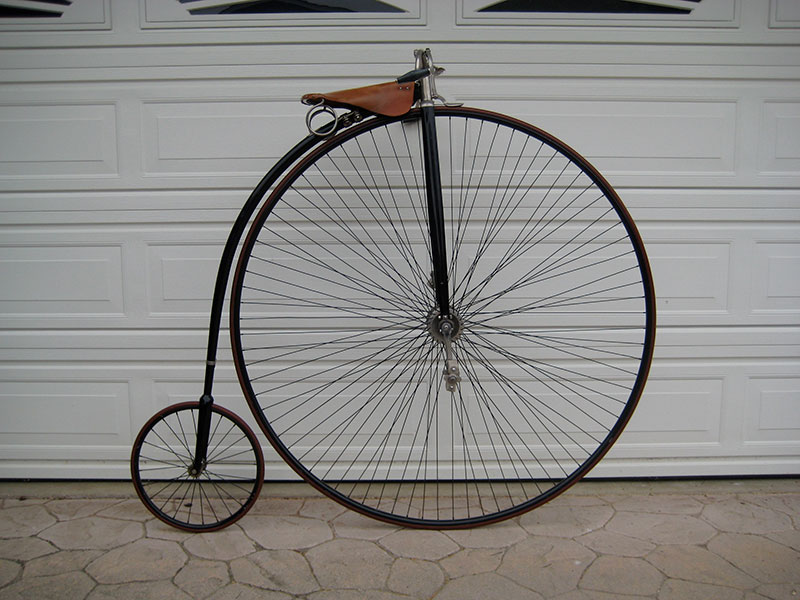 Victor highwheel bicycle
