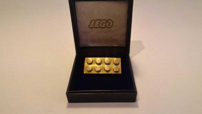 Lego Gold Brick