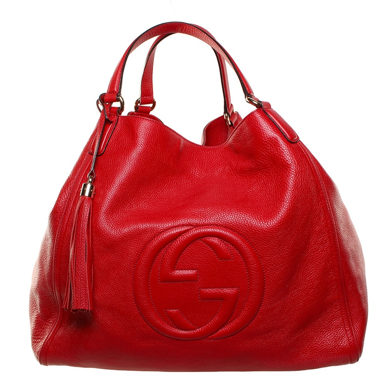 Gucci Red Soho Bag