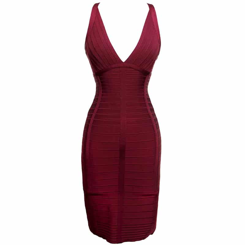 Herve Leger Jada Bandage Dress